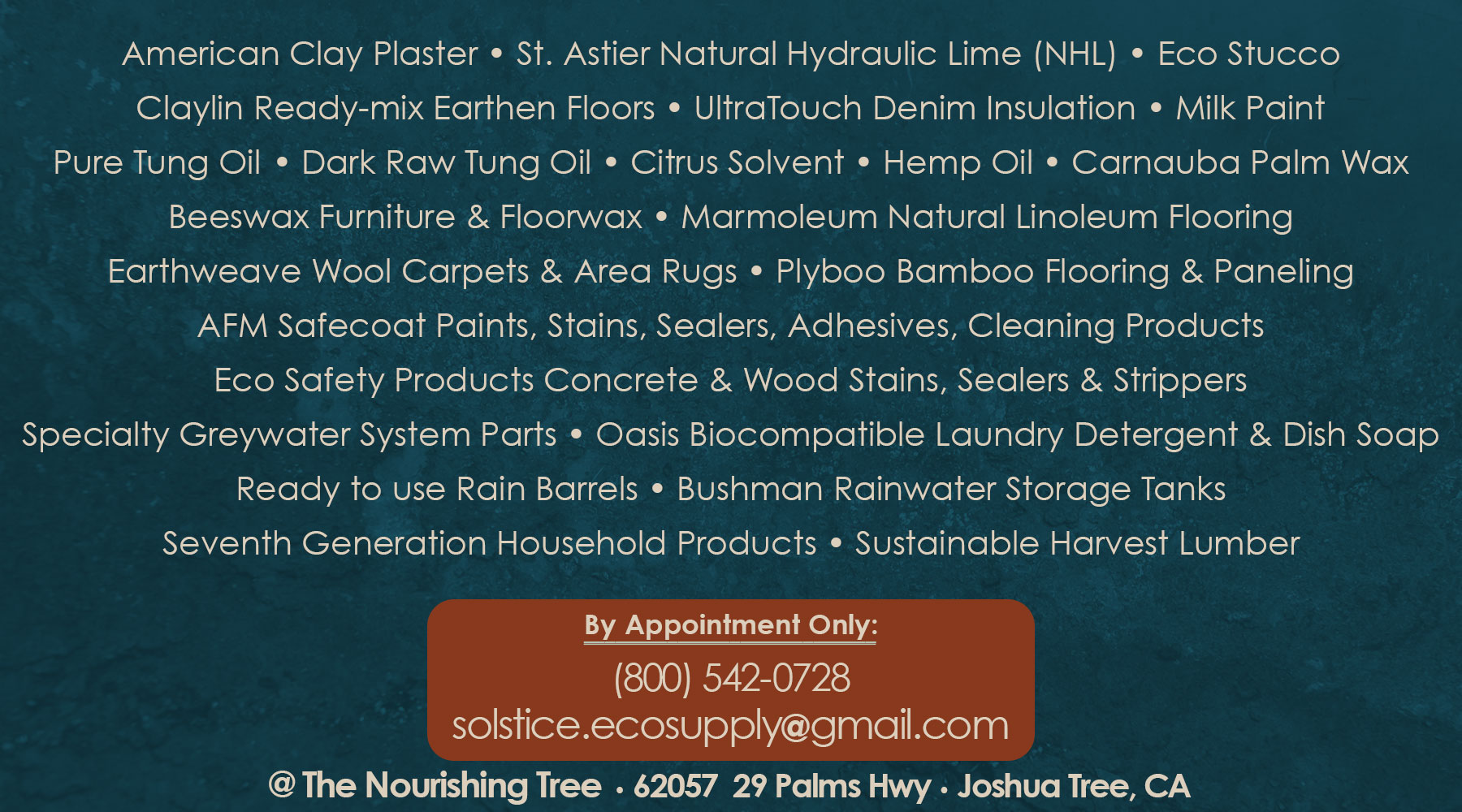 solstice_eco_building_supply-list